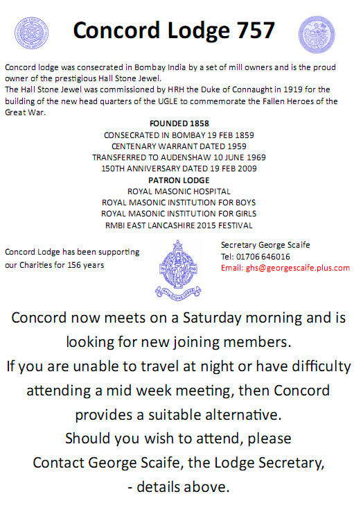 45 Concord Lodge Flyer